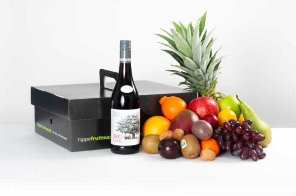 Fruitmand Rode wijn Groot