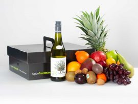 Hippe fruitmand Groot Witte Wijn