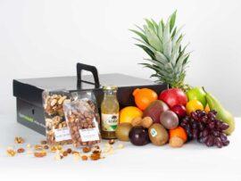 Fruitmand groot gezonde Noten