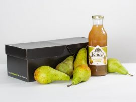 Fruitmand Toffe peer