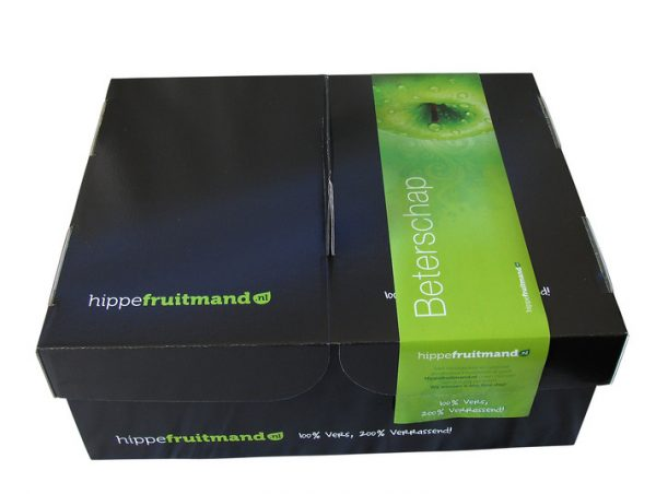 "Hippe fruitmand ""Beterschap"""